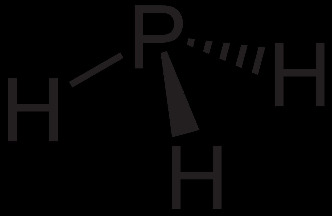 фосфин, химическая формула